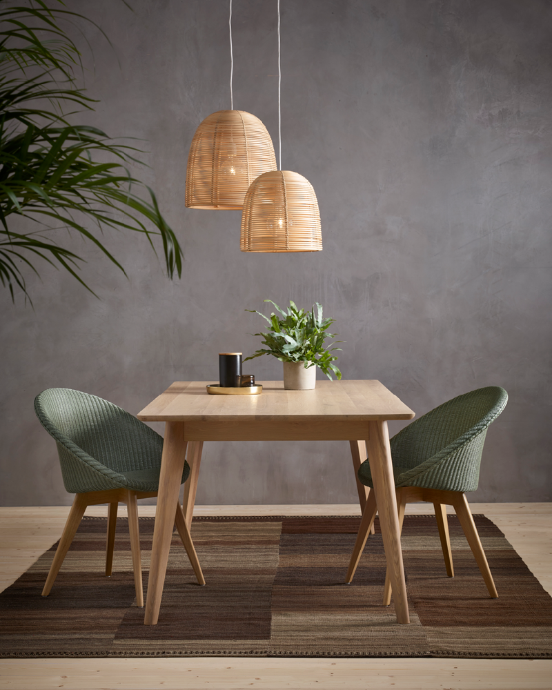 Vincent-Sheppard-Dan-dining-table-Joe-dining-chair-oak-Vivi-lamps