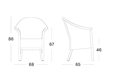 Monte carlo dining chair